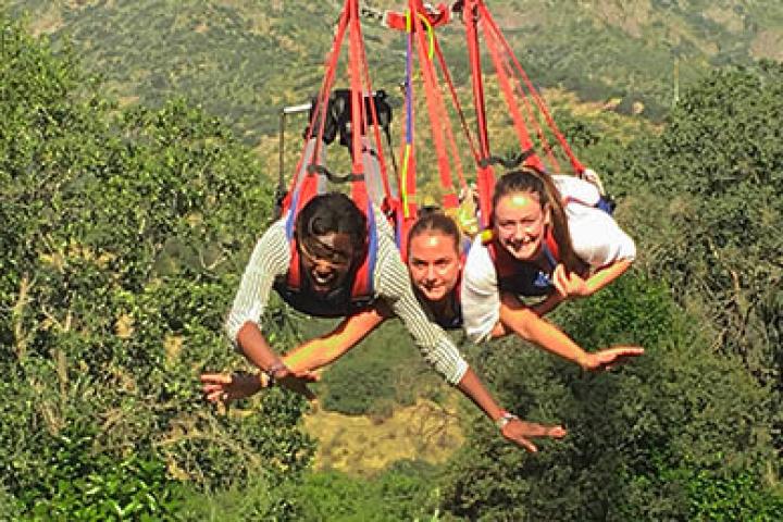 Caída en Swing en Santiago (para 3 personas)