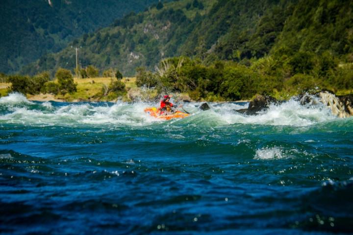 Navegación por la laguna San Rafael en Catamaranes del Sur (desde Puerto Chacabuco)