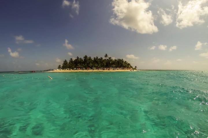 Caminata submarina con escafandras