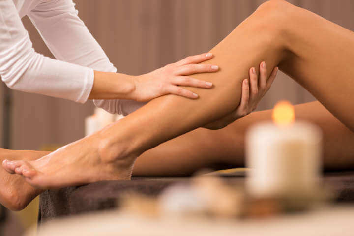 2 sesiones de drenaje linfático para piernas