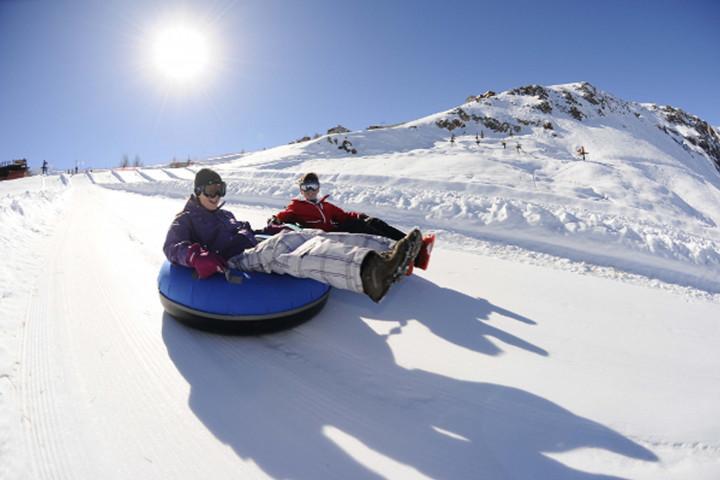Clases de ski o snowboard para principiantes en La Parva