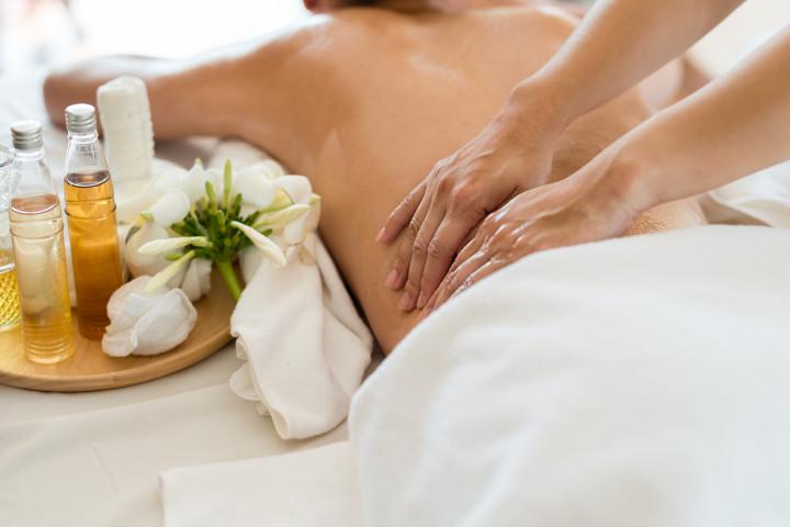3 sesiones de masaje de espalda