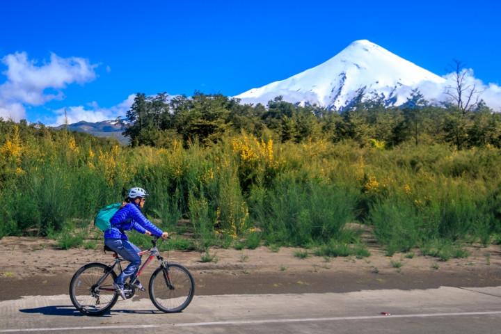 Vuelta al lago Llanquihue con uso de bicicletas disponible (para 2 personas)