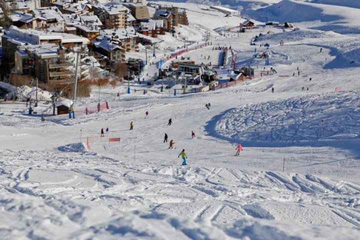 Día de ski en Valle Nevado con clases para principiantes