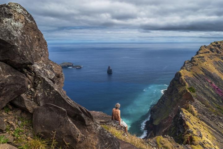 Cabalgata por la zona de las cavernas de Rapa Nui