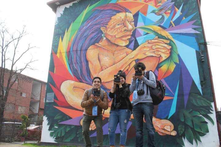 Tour de fotografía Polaroid y Graffiti