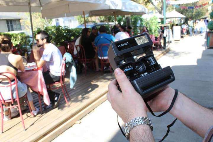 Tour de fotografía Polaroid por Santiago