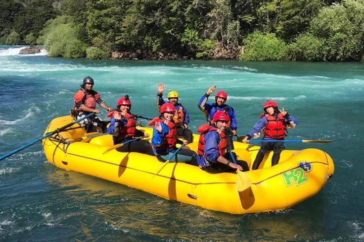 Duckies en el río Futaleufú (Kayak Inflables)