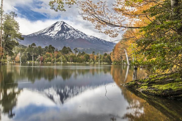 Trekking por los cráteres parásitos del volcán Villarrica