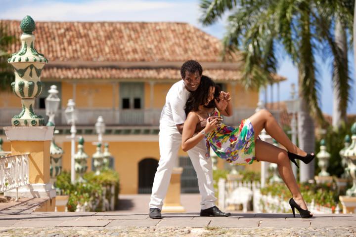 Rumba en chiva por Cartagena