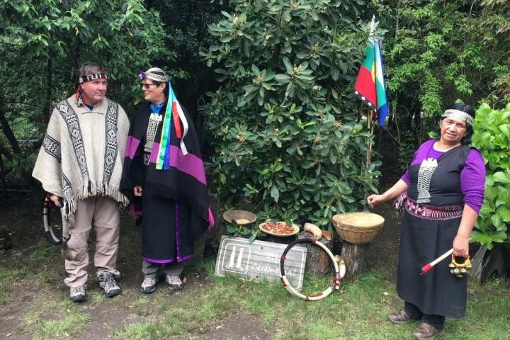 Visita a la comunidad Mapuche Anturayen