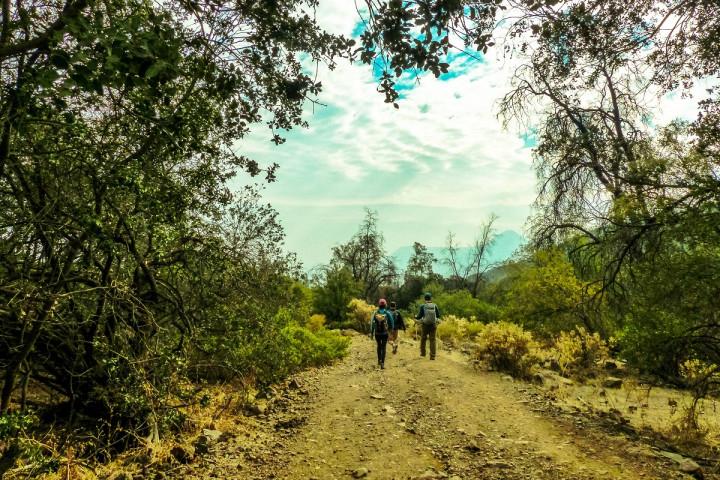 Trekking al cerro Alto del Naranjo para 2 personas (octubre-mayo)