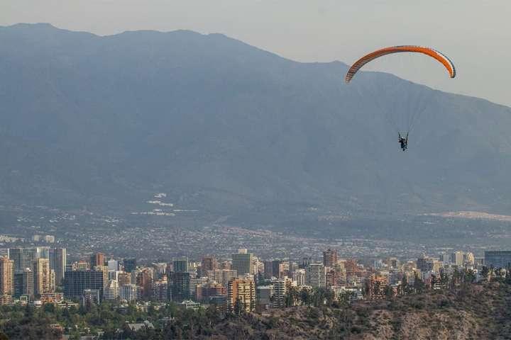 Vuelo libre en parapente en Santiago
