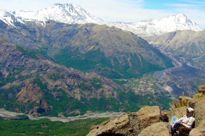 Trekking al glaciar Nieves Negras (septiembre-mayo)