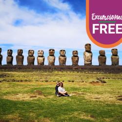 Isla de Pascua en Cabañas Orito 5 Dias / 4 Noches 2020 ¡Te regalamos las excursiones!