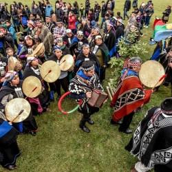We Tripantu Mapuche cerca de Temuco