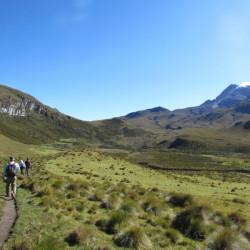 Trekking por los termales de Cañón