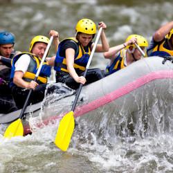 Rafting en los ríos de Aysén