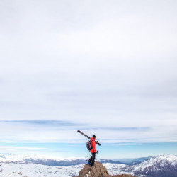 Día de ski en La Parva (nivel avanzado)