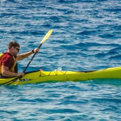 Kayak en las playas de Lima