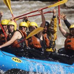 Rafting en el río Maipo