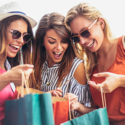 Tour de compras a Easton Outlet Mall