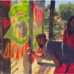 Taller de graffiti en Valparaíso (para 2 personas)