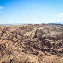 Caminata por las cornisas del Valle de la Muerte