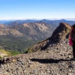 Trekking por el valle de Aguas Calientes