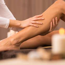 3 sesiones de drenaje linfático para piernas (a domicilio)