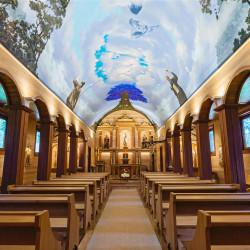 Recorrido virtual e inclusivo por la Iglesia San José Carpintero, Vodudahue, Chiloé.