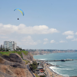 Vuelo en parapente por Lima