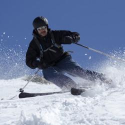 Día de ski en El Colorado