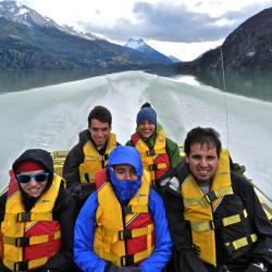 Jet Boat Lago y Glaciar Leones desde Puerto Guadal
