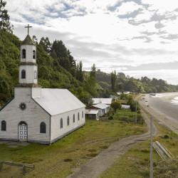 Recorrido virtual e inclusivo a Iglesia Nuestra Señora de Lourdes, Llingua, Chiloé.