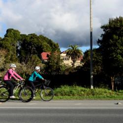 Vuelta al lago Llanquihue con visita al Parque Nacional Vicente Pérez Rosales y el volcán Osorno, con uso de bicicletas disponible
