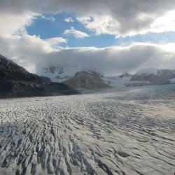 Sobrevuelo al Glaciar Nef