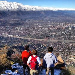 Trekking a la cumbre del cerro Manquehue