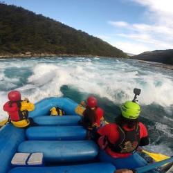 Rafting en el río Baker