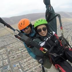 Experiencia de Vuelo en Parapente sobre Iquique.