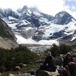 Trekking por el valle del Francés en el Parque Nacional Torres del Paine (noviembre-abril)