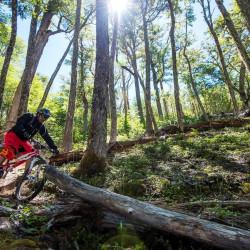 Mountain bike por el Parque Nacional Cerro Castillo