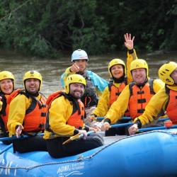 Rafting en los ríos Blanco y Aysén