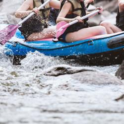 Rafting en el río Petrohué