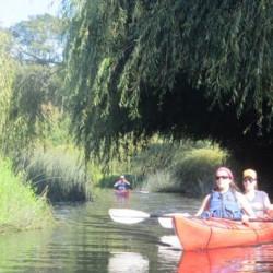 Kayak en el sector La Poza (para 2 personas)