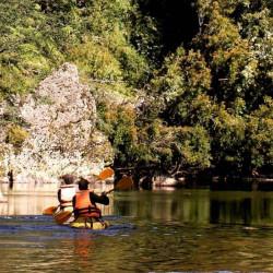 Cabalgata y kayak en el río San Pedro