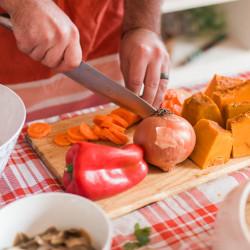 Tour gastronómico por Santiago con clases de cocina chilena