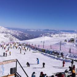 Día de ski para adultos principiantes en La Parva (13 a 59 años)